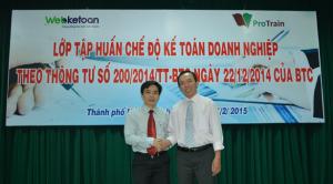 Webketoan ký Biên bản hợp tác với TVT ProTrain