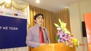Ông Chung Thành Tiến - Giám đốc TVT ProTrain góp ý sửa đổi, bổ sung Luật Kế toán